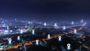 smart city with checkpoints  communication network